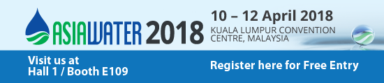 VISIT OUR BOOTH AT ASIA WATER 2018