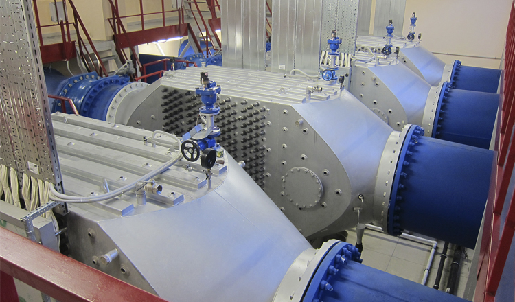 New UV disinfection plant in Novosibirsk, Russia